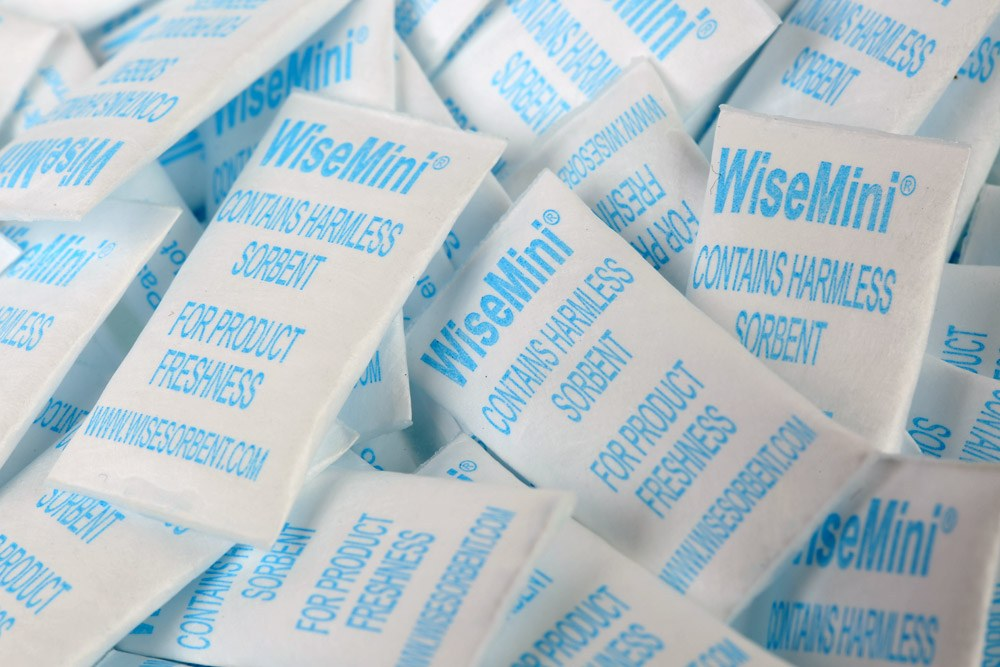 Wisemini Silica Gel Desiccant Packets/Bags | Wisesorbent Technology