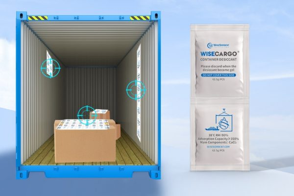 Wisecargo Desiccant For Container 1x2