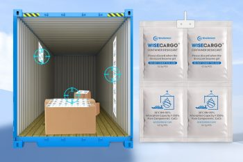WiseCargo Container Desiccant 1 x 4