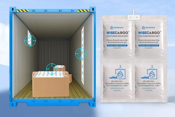 WiseCargo Container Desiccant 1 x 4