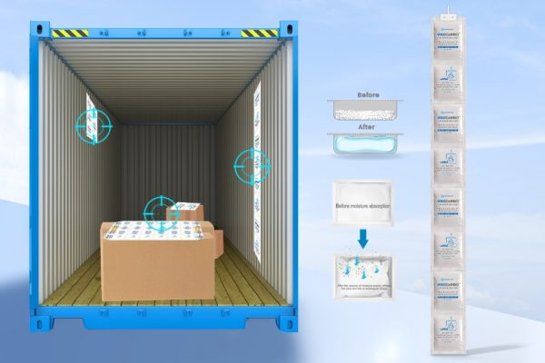 Wisecargo Desiccant For Container 1x8