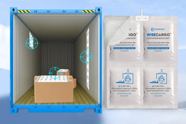 Wisecargo Desiccant For Container 1 x 4