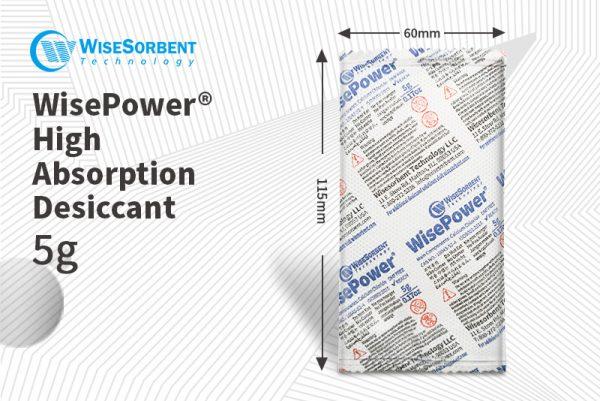 WiseSorbent® High Absorption Desiccant 5g