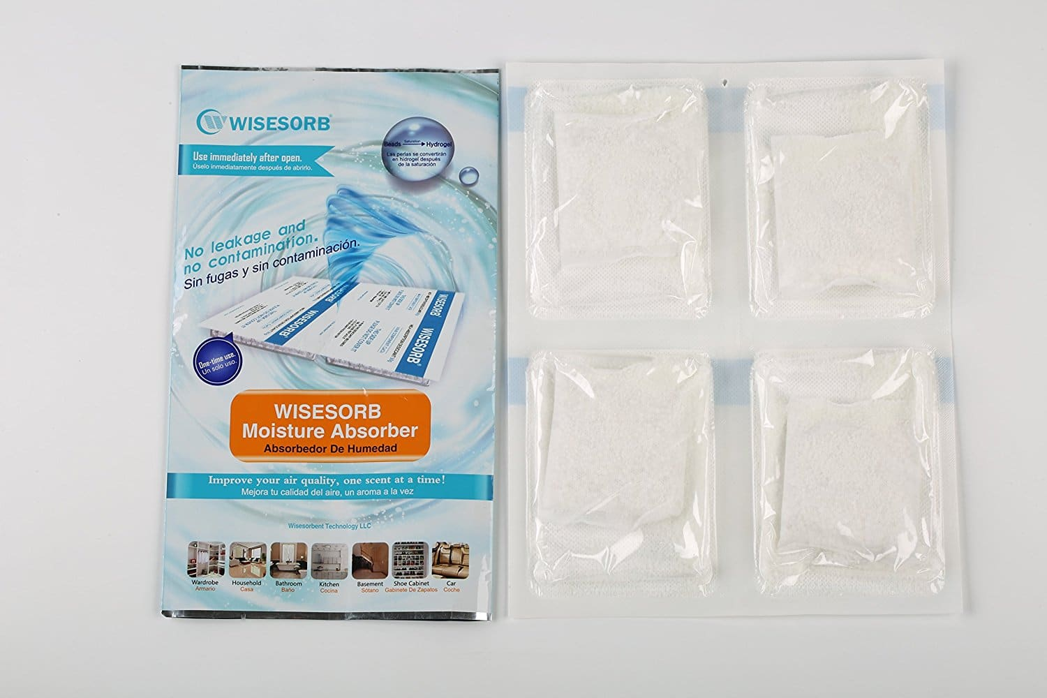 Wisesorb Moisture Absorber Multiple Use 200g | Wisesorbent Technology