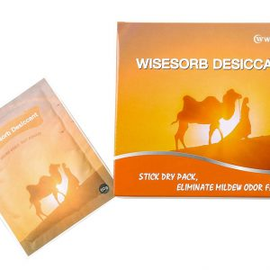 Wisesorb Moisture Odor Absorber Packet Adhesive Backing