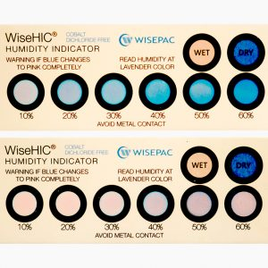 Wisesorbent HIC (Humidity Indicator Card) Cobalt Dichloride Free