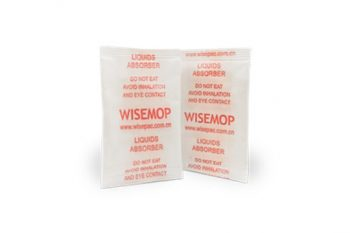 Wisemop Rapid Water Absorption Packs with Liquid
