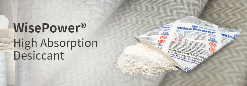 WisePower High Absorption Desiccant
