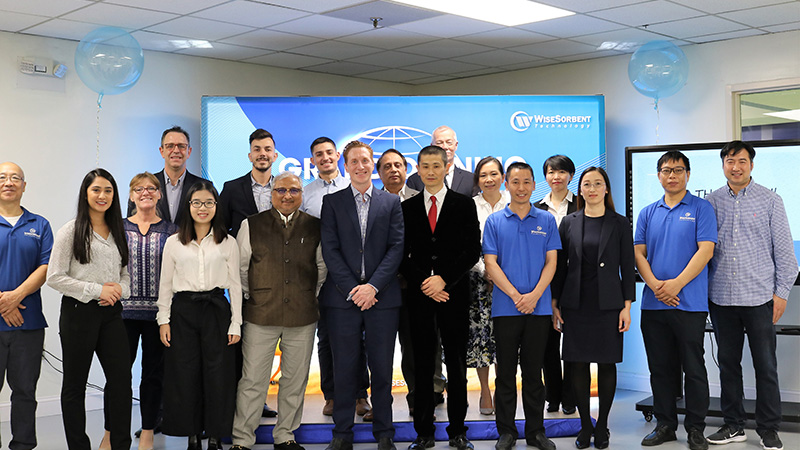 Grand Opening of Product Wisesorbent