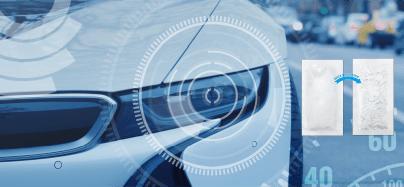 Automobile Light Desiccant Graphic