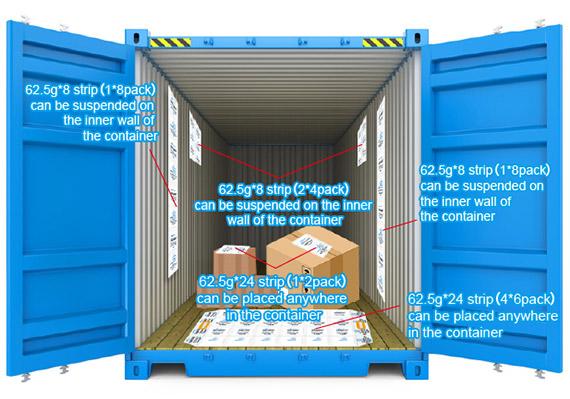 Wisecargo Container Desiccant