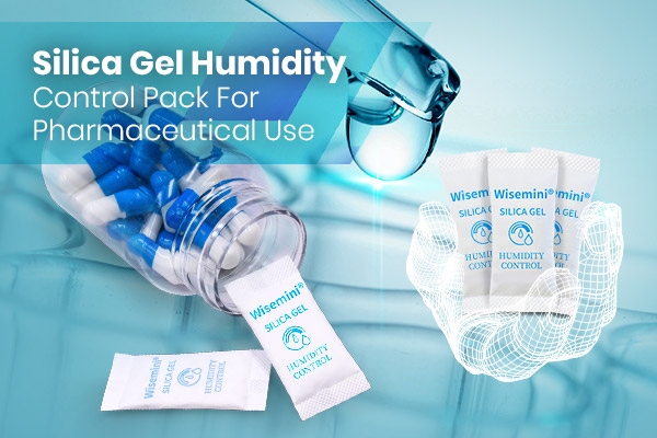 WiseMini® Silica Gel Humidity Control Pack For Pharmaceutical Use