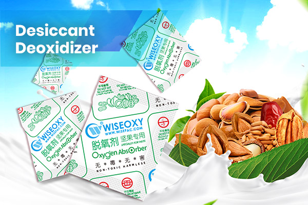 WiseOxy Desiccant Deoxidizer Application in Nuts
