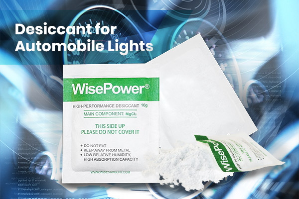 WisePower Desiccants Automobile Lights