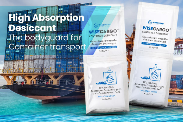 WiseCargo® High Absorption Desiccant