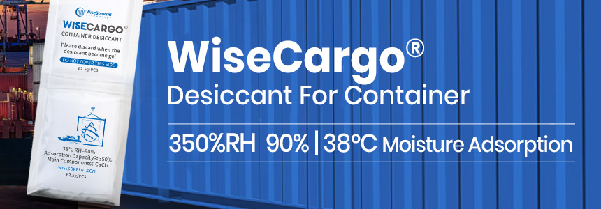 WiseCargo Desiccant For Container