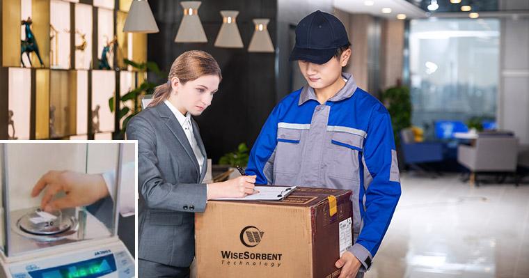 WiseSorbent® desiccant delivery