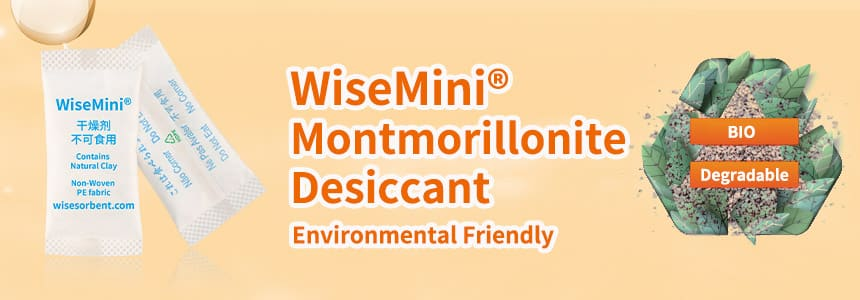 WiseMini® Montmorillonite Desiccant
