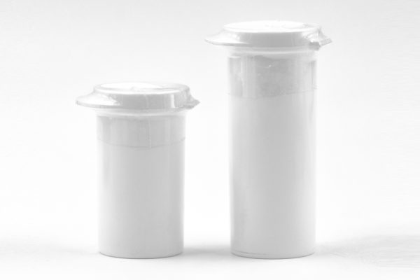 Flip Top Vials with Desiccant Embedded